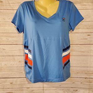 Fila Blue/Multi Color Short Sleeve Tee